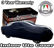 INDOOR SHOW CAR COVER FOR HOLDEN UTE VX VU VY VZ VE VF HSV MALOO SOFTLINE BLACK