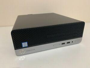 HP ProDesk 400 G6 SFF Desktop PC Intel i5-9500 9th Gen 16GB DDR4 256GB M.2 SSD !