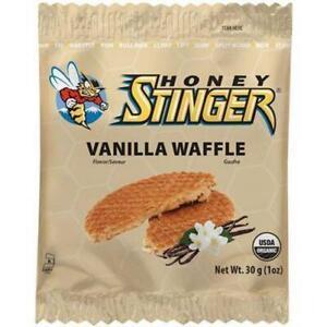 HONEY Stinger Organic Stinger Energy Waffles 30G Box Of 16 Vanilla