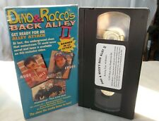 DINO & ROCCO'S BACK ALLEY II VHS