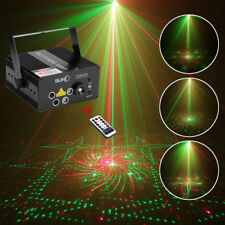 SUNY 5 Len Red Green Laser Light Blue LED DJ Stage Show Xmas Home Event  Z80RGRG