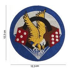 506th DIVISIONE FANTERIA 101st Airborne PARACADUTE REG insegne Patch US ARMY
