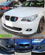 2004-2010 BMW E60 E61 M-Tech & M-Sport Only CF Front Bumper Lip Carbon Fiber HM