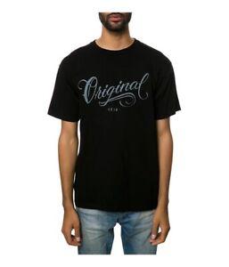 KR3W Mens The Los Originales Graphic T-Shirt, Black, Small