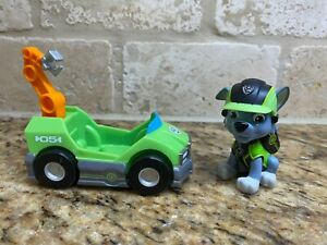 spin master Paw Patrol Mission Cruiser Patroller Rocky figure and Vehicle HTF