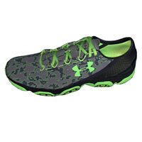New Under Armour Speedform XC Green Grey Black Men's Sneakers Size 13