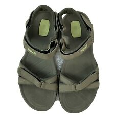 Teva Verra Womens 1006263 Green Trail Adjustable Strappy Sandals Size US 10