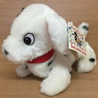 Walt Disney Vintage 1989 101 Dalmations Patch Puppy Dog Plush Soft Toy With Tag