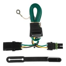 CURT 55312 Vehicle Side Custom 4Pin Trailer Wiring Harness Chevy GMC T connector