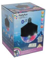ED190 - Lampada con effetti luce e speaker integrati E27 Party Fun Lights