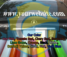 Custom Web Site for Car Window 3 inch letters Vinyl Letter Decal Sticker Car !!!