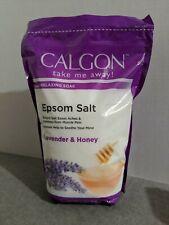 Calgon Rejuvenating Therapy Soak Epsom Salt Lavender and Honey, 48-Ounce