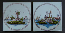 Vintage Dutch Set = 2 Scenic Tiles