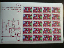 Europa 1961 - Full Sheet - Liechtenstein - Scott# 368