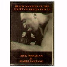 "RICK WAKEMAN & MARIO FASCIANO ""BLACK KNIGHTS AT THE COURT"" MUSICASSETTA  NUOVA"