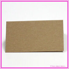 Blank Buffalo Kraft Placecards - Wedding Favour Tags - Pack of 25