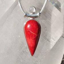 Natürliche gefärbte Echtschmuck-Halsketten & -Anhänger aus Sterlingsilber