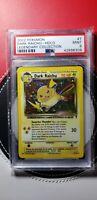 PSA 9 Dark Raichu 7/110 POP 91 Legendary Collection 2002  Holo Pokemon Card MINT