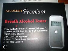 Alcomate Premium Breath Alcohol Tester Kit. Breathalyzer Prism Sensor Technology