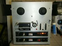 Vintage Akai 1800L Reel To Reel Tape Recorder Player 8 Track Powers On Runs
