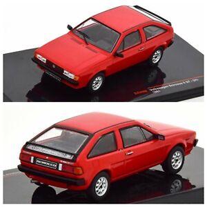1/43 Ixo Volkswagen Scirocco II 1987 Rouge Neuf Boite Livraison Domicile