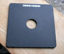 Toyo monorail  5x4 10x8  flat cast lens board for copal compur 0