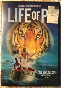 Life of Pi  Brand New Sealed DVD Ang Lee