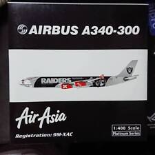 Phoenix Air Asia A340-300 9M-XAC Oakland Raiders Limited Edition Scale 1:400