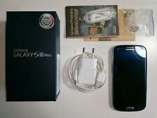 Samsung Galaxy SIII/S3 Neo, Metallic Blue! Sim Free! Not locked! With box.