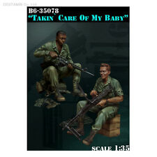 1/35 Scale resin model kit 'taking care of my baby' Vietnam war