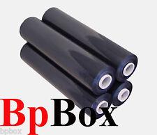 "80 GAUGE 4 black Stretch Film Rolls Wrap Packaging  18"" X 1000'"