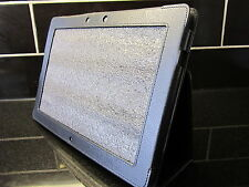 Black PU Leather Carry Case/Cover/Stand for Asus Eee Pad TF201 Transformer Prime