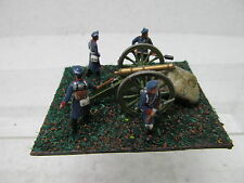 MES-39562 1:72 Artillerie-Stellung Minidiorama bemalt,