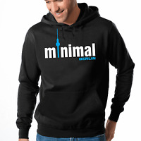 Minimal Berlin Electro Techno House Music Musik Kapuzenpullover Hoodie Sweater