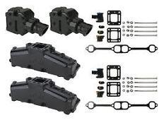 "MERCRUISER Exhaust Manifold Kit 4"" Centre Out Elbow Small Block 5 & 5.7 Litre"