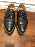 Dr Martens Black Leather Shoes. Crocodile Pattern Size 7 Men Us 8 Women