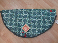 New 2 Red Hens Toy Nanny Play Mat Tote Bag Turquoise Peacock Mum