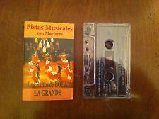 Pistas Musicales Con Mariachi Los Exitos Del Lola La Grande Cassette Foreign OOP