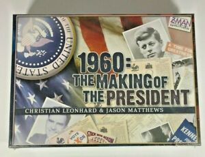 A strategy board game for two players  (1960=The Making of the President ) Z-MAN
