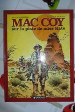BD mac coy n°21 sur la piste de miss kate EO 1999 TBE palacios RARE