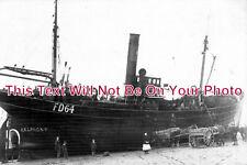 LA 664 - Trawler, Pilling Sands, Belmont, Lancashire c1906 - 6x4 Photo