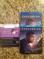 Concussion (Blu-ray Disc,2016)Authentic US Release