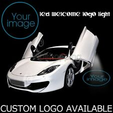 Customized Logo Car LED Door Laser Projector Courtesy Lamp Ghost Shadow Light