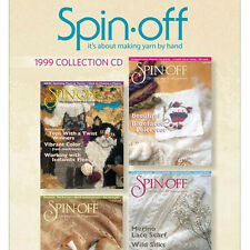 Spin-Off Magazine: It's About Making Yarn By Hand 1999 Collection Cd: All 4