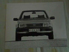 Ford Orion injection Press Photo Jul 1983 German texte