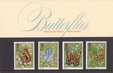 GB 1981 BUTTERFLIES YEAR PRESENTATION PACK 126 SG 1151-1154 MINT STAMP SET # 126