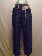 Diego Binetti Love Womans Le Pommettes Multi Color Pants Size 4