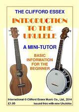 Mini Ukelele Tutor. publicado por Clifford Essex música Co. Ltd..