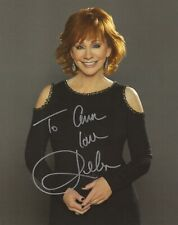 Reba Mcentire Hand Signed 8x10 Color Photo Amazing Pose Signed To Ann