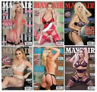 Mayfair Magazine 6 Pack - Volume 54 Number 12 to 54 Number 7 New Back Issues